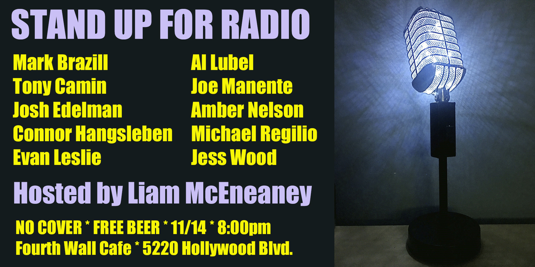 Stand Up For Radio Nov 2019